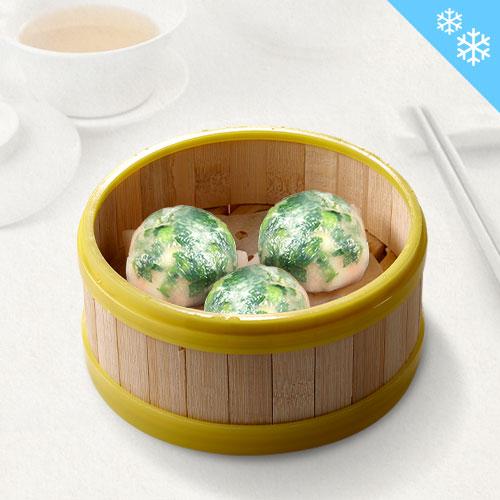 Jia He Crystal Dumpling with Chives (8pcs/pkt) /// 嘉和韭菜水晶饺 (8粒装)